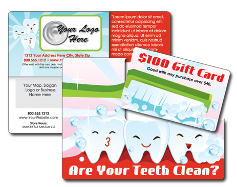 Dentist Plastic Post Card Marketing System – Boost Response 4x!