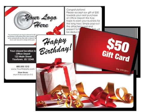 Retail, Birthday & More! Plastic Postcard Marketing System